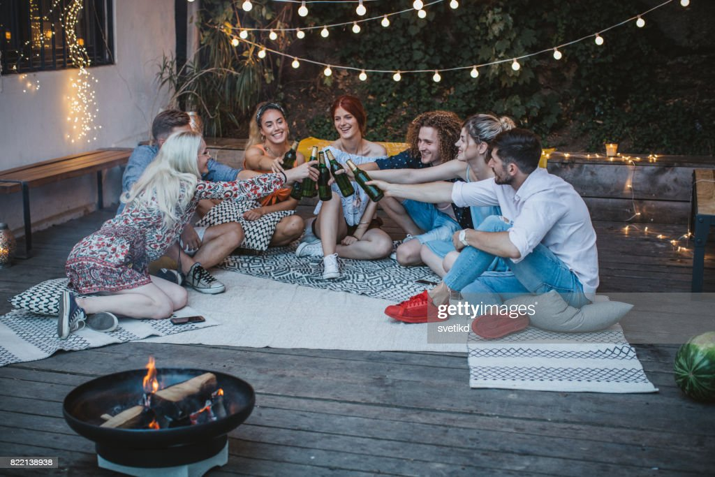 Here's to us! : Stock Photo