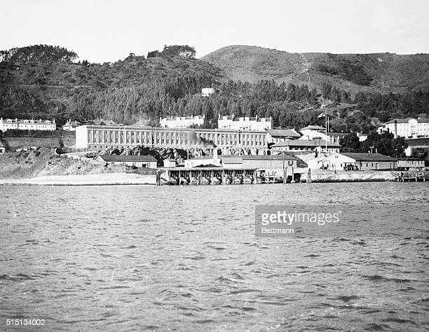 Here's Uncle Sam's Western Ellis Island The US immigration station at Angel Island through which arrivals from oriental ports are handled The island...