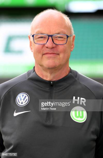 Heribert Rüttge of VfL Wolfsburg poses during the team presentation at on September 13 2017 in Wolfsburg Germany