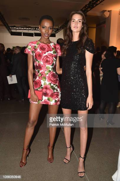 Herieth Paul and Vanessa Moody attend The 12th Annual Golden Heart Awards at Spring Studios on October 16 2018 in New York City