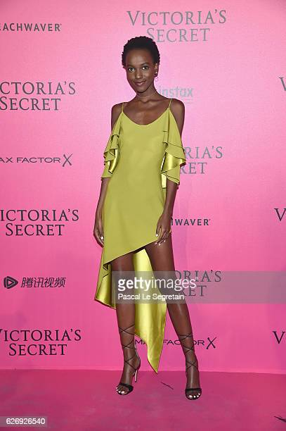 Herieth Paul attends the 2016 Victoria's Secret Fashion Show after party on November 30 2016 in Paris France
