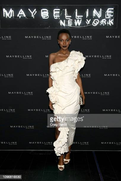 Herieth Paul attends the Maybelline New York Fashion Week Party on February 10 2019 in New York City