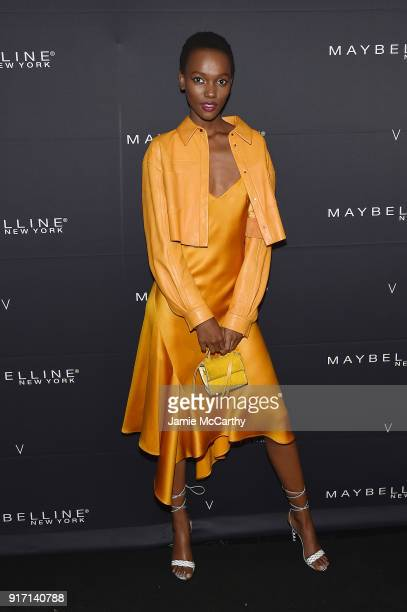 Herieth Paul attends the Maybelline New York x V Magazine Party at the Nomo Soho Hotel on February 11 2018 in New York City
