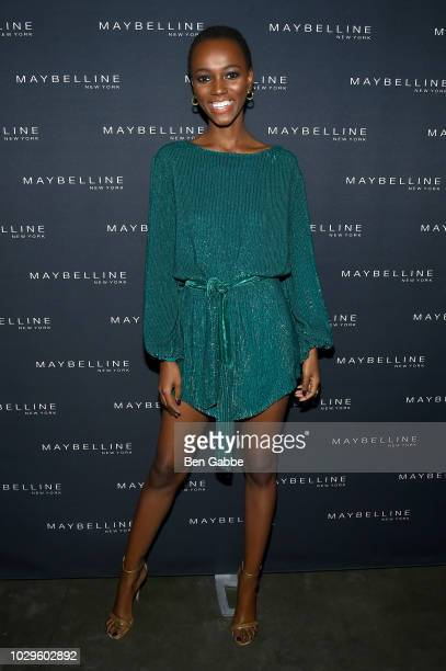 Herieth Paul attends the Maybelline x New York Fashion Week XIX Party at Mr Purple at the Hotel Indigo LES on September 8 2018 in New York City