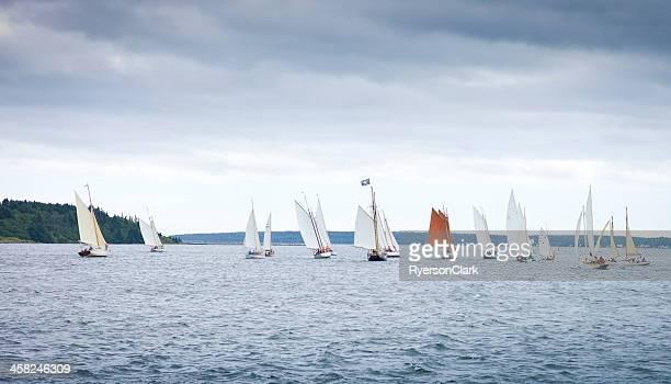 Heritage Cup Classic Sailboat Race, Lunenburg Nova Scotia.