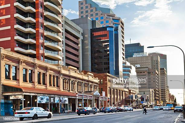 Heritage & highrise at Grenfell Street