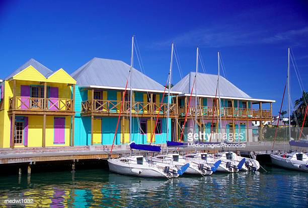 Heritage Quay shopping district, St Johns, Antigua