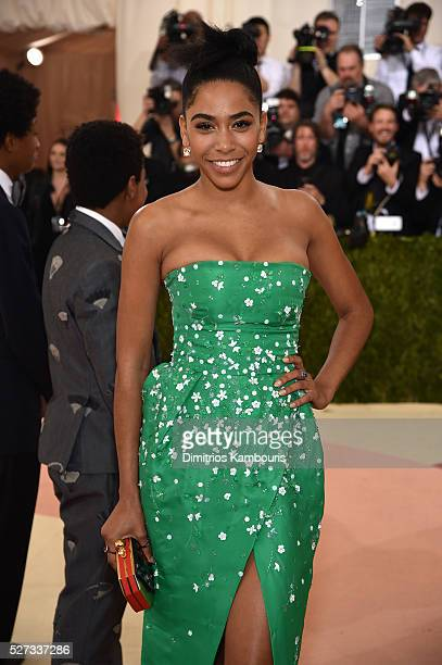 Herizen F Guardiola attends the 'Manus x Machina Fashion In An Age Of Technology' Costume Institute Gala at Metropolitan Museum of Art on May 2 2016...