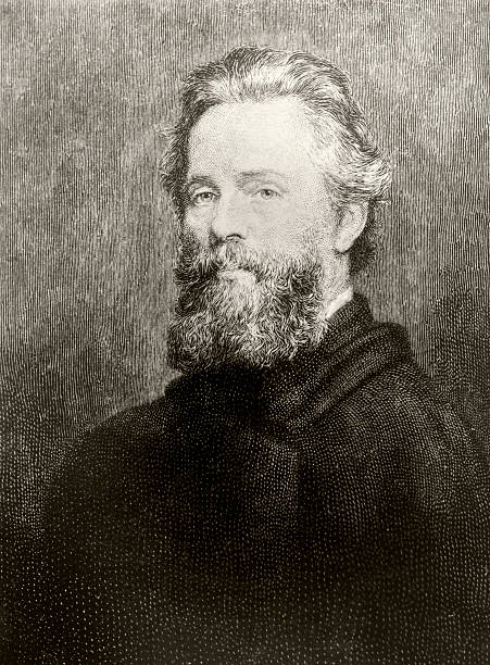 """UNS: 1st August 1819 - Birth of """"Moby Dick"""" Writer Herman Melville"""
