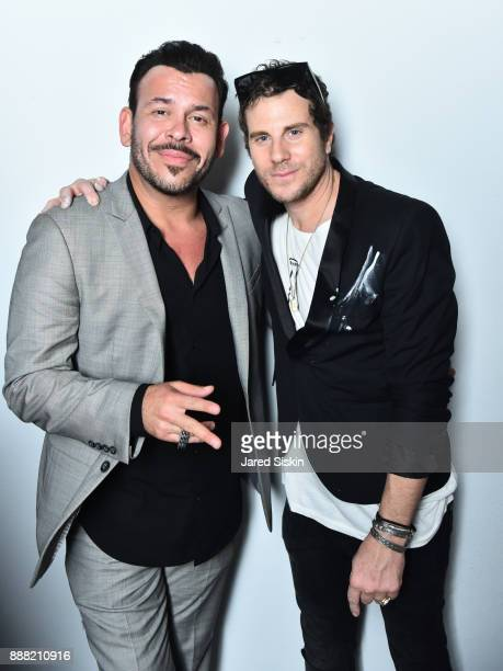Herman Town and Gregory Siff attend 4AM Presents Crash This A Private Exhibition Of New Paintings By Gregory Siff at Soho House Miami on December 7...