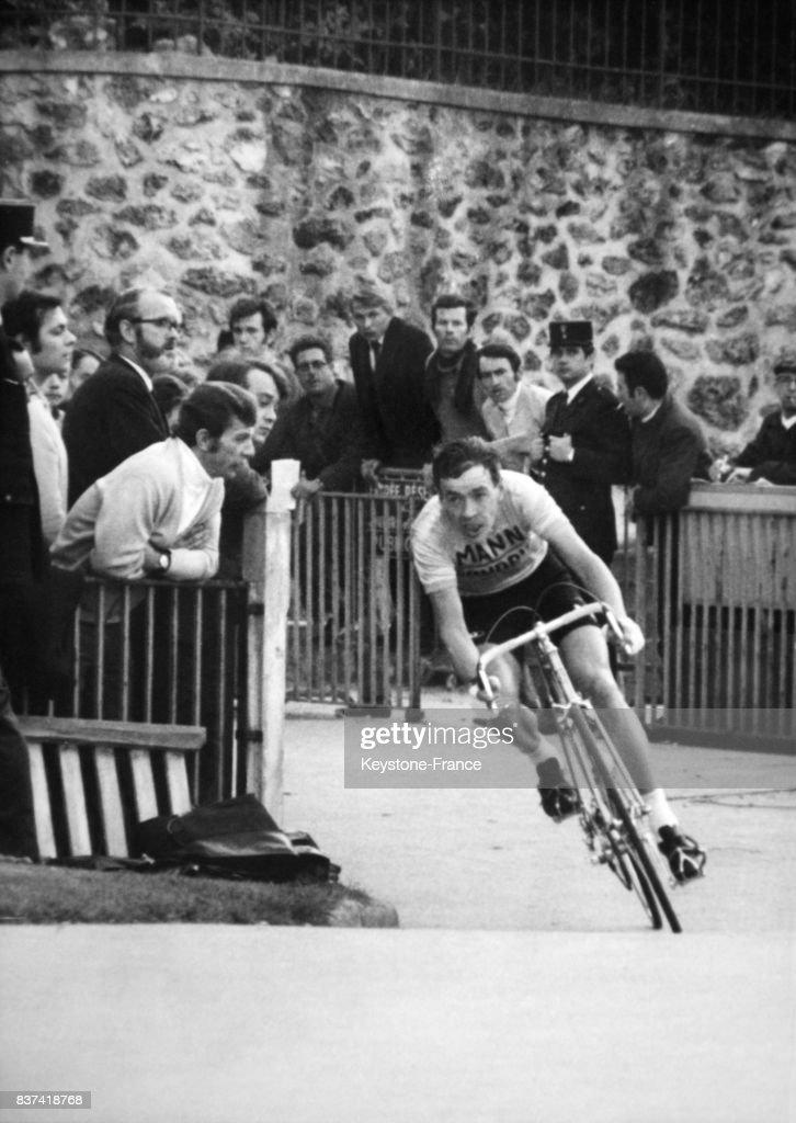 8a46c92128903d Herman Van Springel lors du grand prix des nations au vélodrome de ...