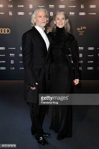 Hermann Buehlbecker and Evelin Hall attend the 24th Opera Gala at Deutsche Oper Berlin on November 4 2017 in Berlin Germany