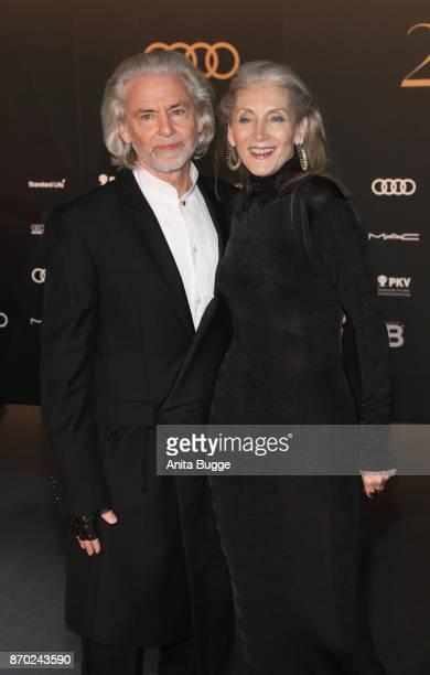 Hermann Buehlbecker and Eveline Hall attend the 24th Opera Gala at Deutsche Oper Berlin on November 4 2017 in Berlin Germany
