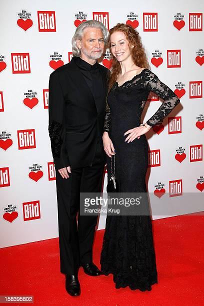 Hermann Buehlbecker and Sina Valeska Jung attends the 'Ein Herz Fuer Kinder Gala 2012' on December 15 2012 in Berlin Germany