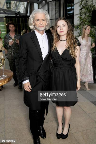 Hermann Buhlbecker attends the amfAR Paris Dinner at The Peninsula Hotel on July 4 2018 in Paris France
