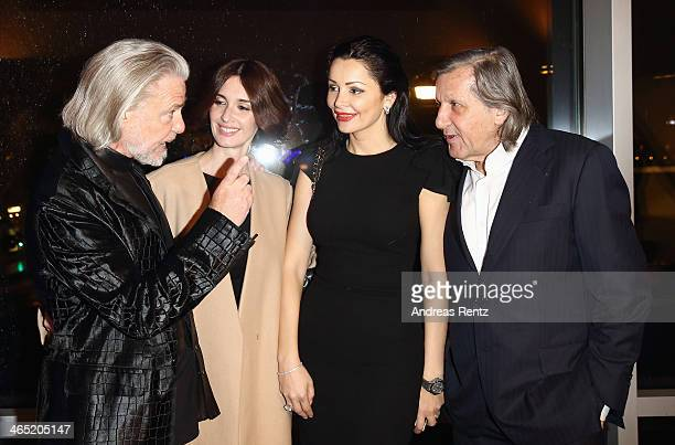 Hermann Buehlbecker Paz Vega Brigitte and Ilie Nastase attend the Lambertz monday night predinner on January 26 2014 in Cologne Germany