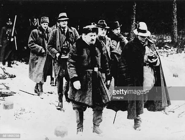 Hermann Göring on hunting visit to Bialowieza / Poland To his left Prince Radziwil About 1935 Photograph