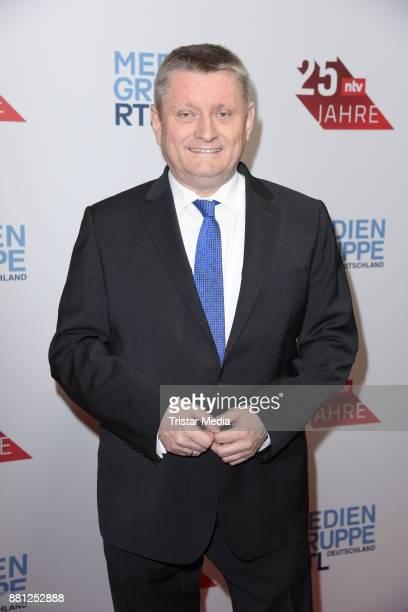 Hermann Groehe attends the 25 years anniversary ntv event at Bertelsmann Repraesentanz on November 28 2017 in Berlin Germany