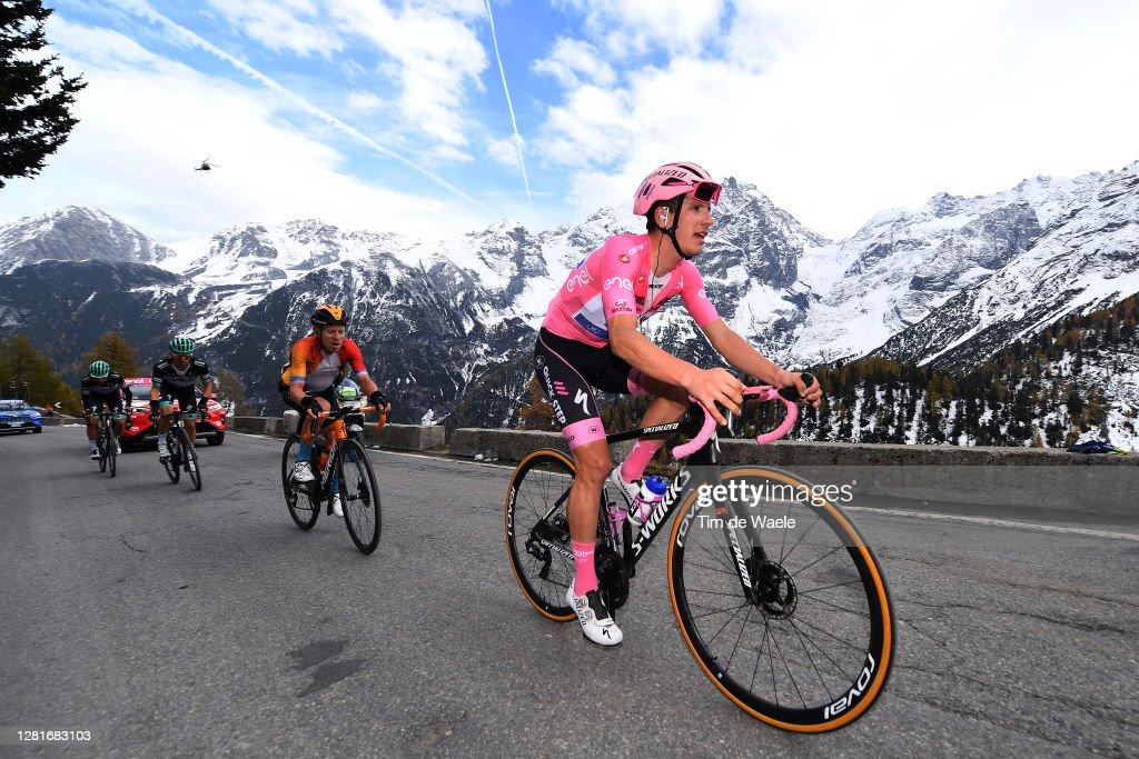 103rd Giro d'Italia 2020 - Stage Eighteen : News Photo