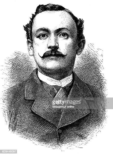 Hermann von wissmann 1853 1905 a german explorer of africa historical engraving 1883