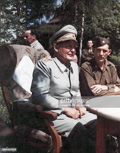 Hermann Wilhelm Göring German politician of the Nazi Party captured in Germany 1945
