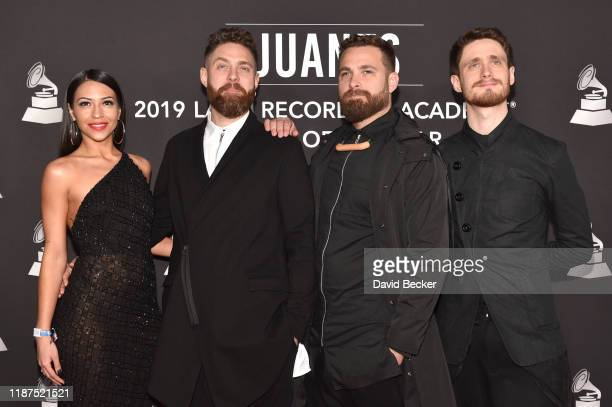 Hermanos Dawidson attend the Latin Recording Academy's 2019 Person of the Year gala honoring Juanes at the Premier Ballroom at MGM Grand Hotel &...