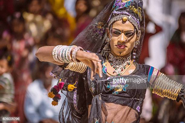 hermaphrodite indian dancer - hermaphrodite stock photos and pictures