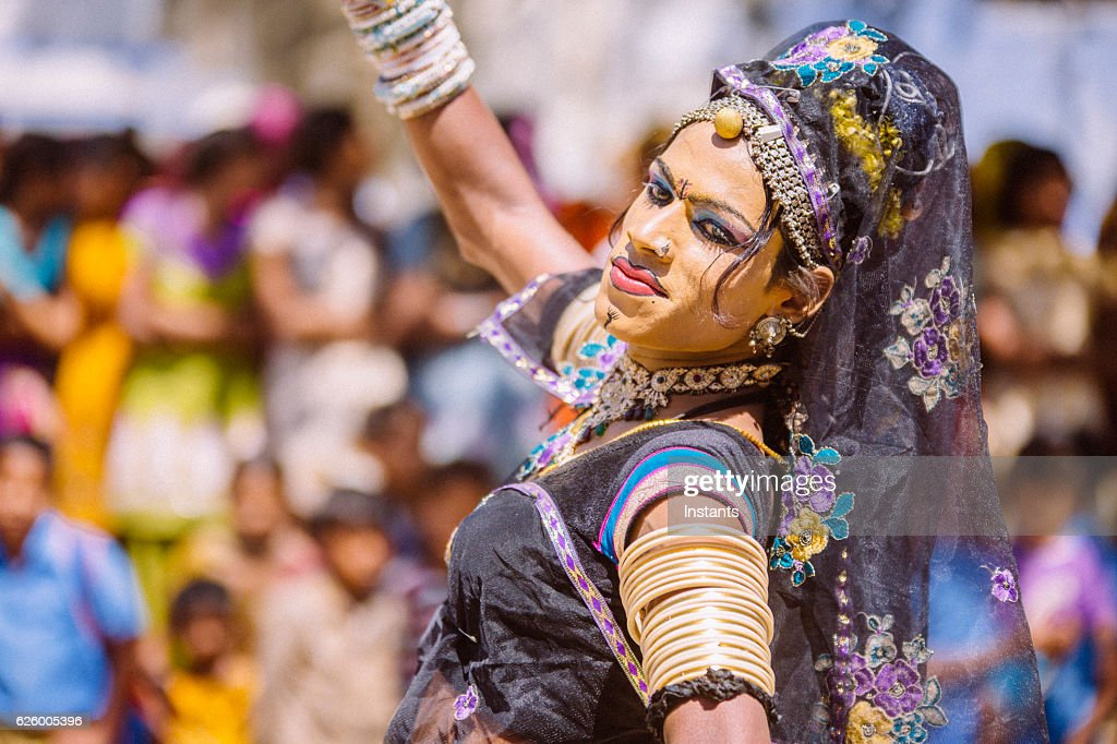 Hermaphrodite Indian Dancer High-Res Stock Photo - Getty