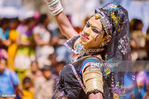 hermaphrodite indian dancer - hermaphrodite stock pictures, royalty-free photos & images