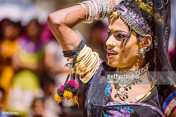 hermaphrodite indian dancer - hermaphrodite humans stock photos and pictures
