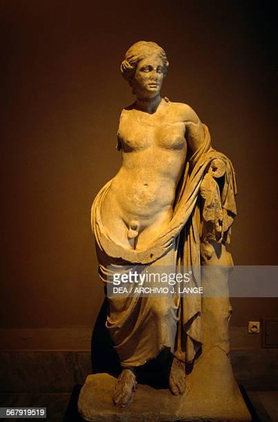 Hermaphrodite statue from Pergamum Turkey 3rd century BC Istanbul Arkeoloji Muzerleri