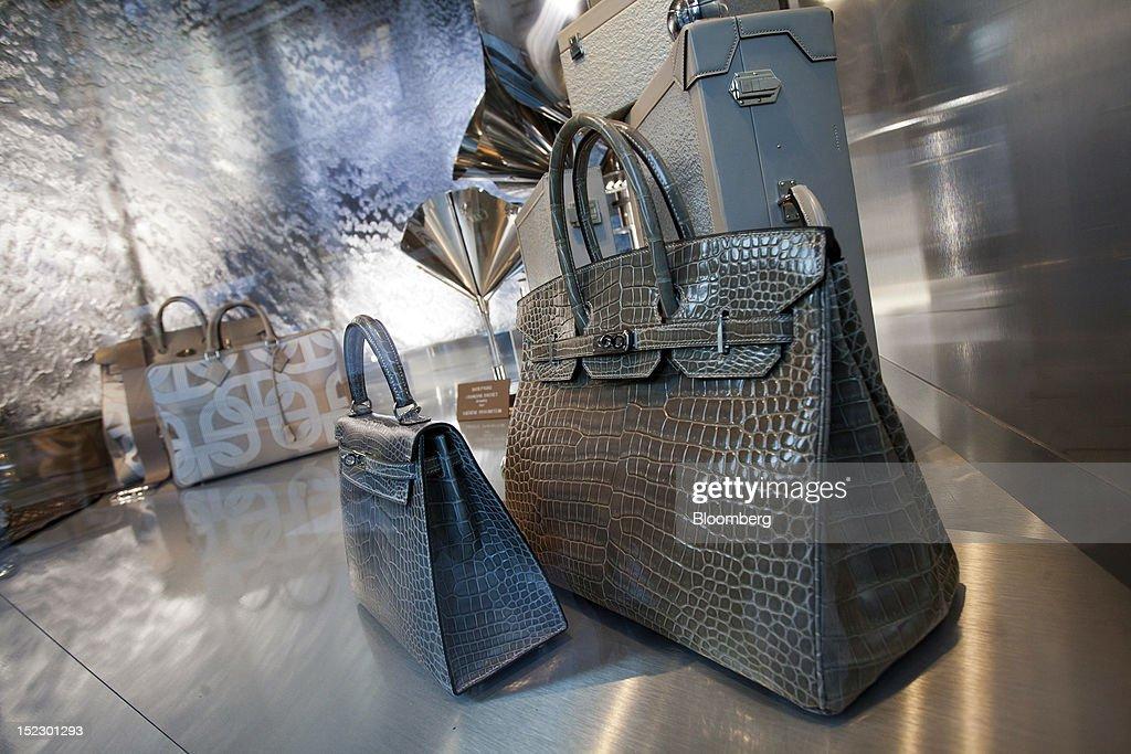 Hermes China Sales Rise : Nieuwsfoto's