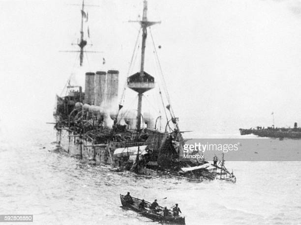 Hermes sunk in the Straits of Dover October 1914 OP732B
