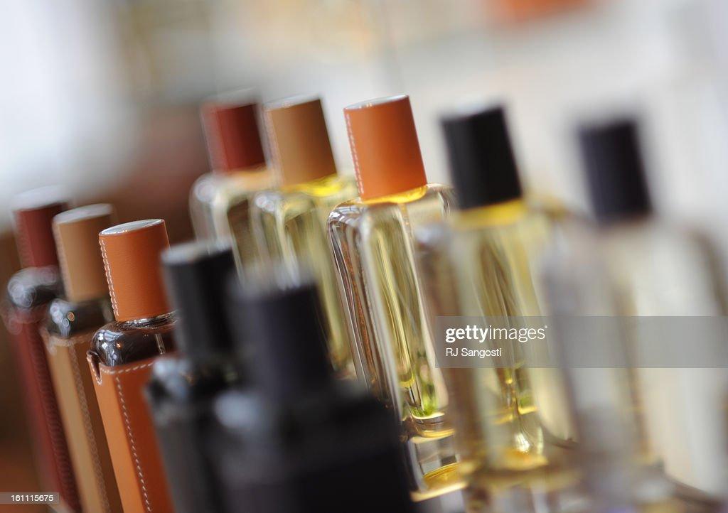 (RM) STHERMES15-- Hermessence Fragrance at Hermes a new store in Cherry Creek. RJ Sangosti/ The Denver Post : News Photo