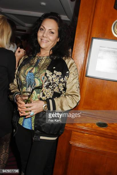 Hermine de Clermont Tonnerre attends the the Nicolas Mereau Birthday Party At Club 13 on April 6 2018 in Paris France