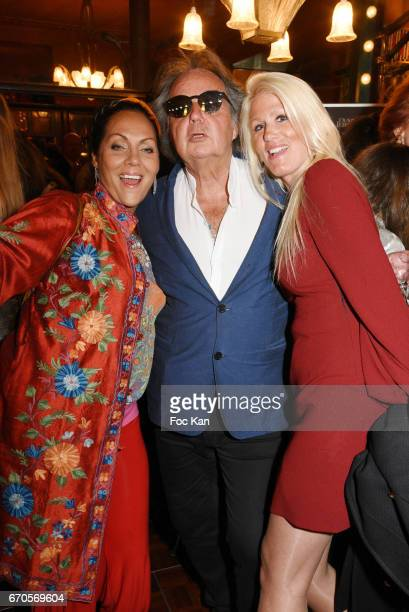 Hermine de Clermont Tonnerre Gonzague Saint Bris and Alice Bertheaume attend 'La Closerie Des Lilas' Literary Awards 2016 At La Closerie Des Lilas on...
