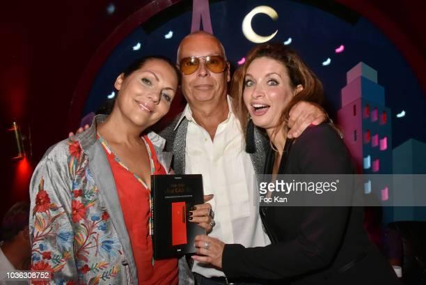 Hermine de Clermont Tonnerre the Castel Roman de la Nuit 2018 awarded writer Valentin Cheron and actress Regina Rebecca attend 'Ma Nuit Chez Castel'...
