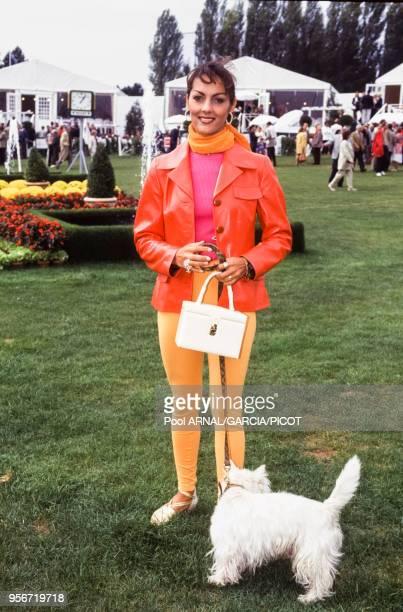 Hermine de ClermontTonnerre lors du Trophée Lancôme à SaintNomlaBretèche en septembre 1988 France