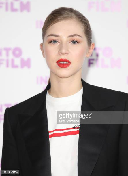 Hermione Corfield attends the Into Film Awards at BFI Southbank on March 13 2018 in London England