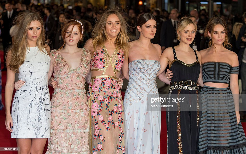 """""""Pride And Prejudice And Zombies"""" - European Film Premiere - Red Carpet : News Photo"""