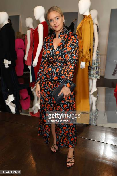 Hermione Underwood attends the Outnet's 10th Anniversary Dinner on April 24 2019 in London England
