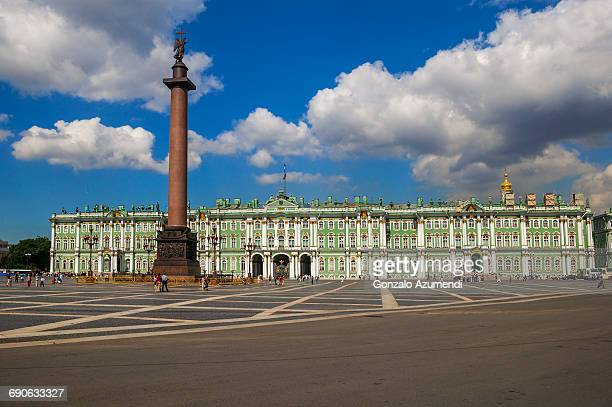 hermitage museum in saint petersburg - st. petersburg russia stock pictures, royalty-free photos & images