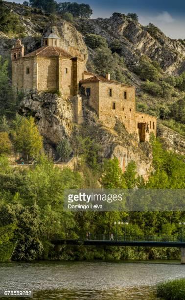 Hermitage of San Saturio in Soria, Spain
