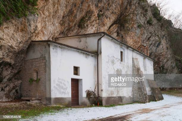 Hermitage of the Madonna del Sasso Valleremita of Caldarola Marche Italy Europe