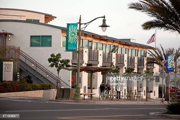 hermosa beach - hermosa beach stock pictures, royalty-free photos & images