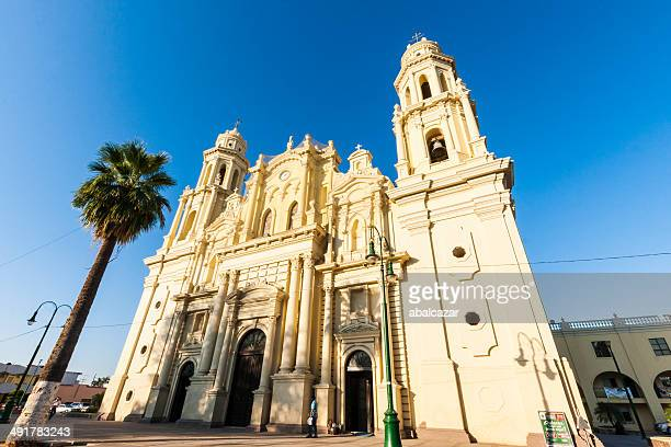 hermosillo cathedral - sonora mexico stock photos and pictures