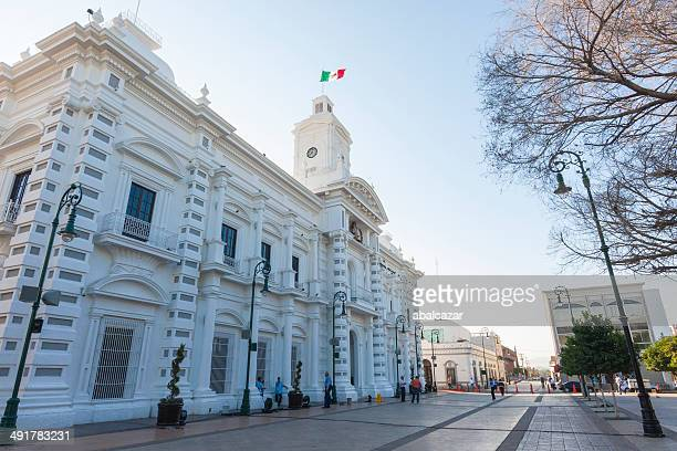 hermosillo town hall - sonora mexico stock photos and pictures