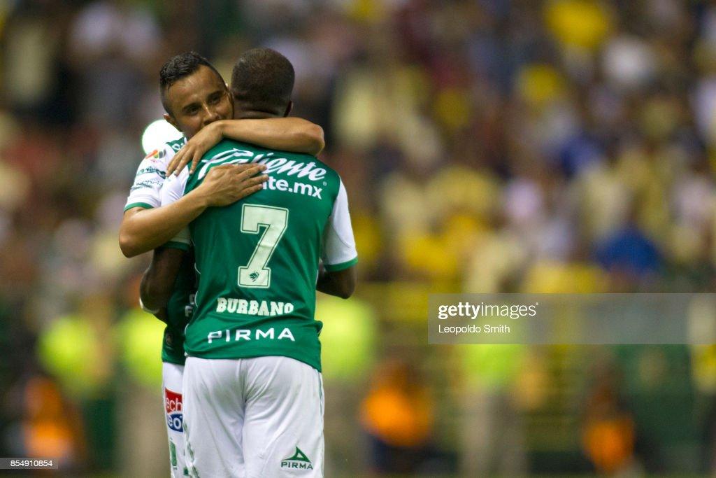 Leon v America - Torneo Apertura 2017 Liga MX