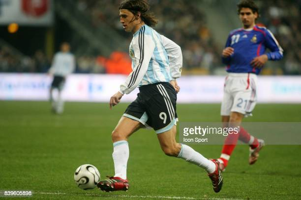 Hernan CRESPO France / Argentine Match amical Stade de France Saint Denis