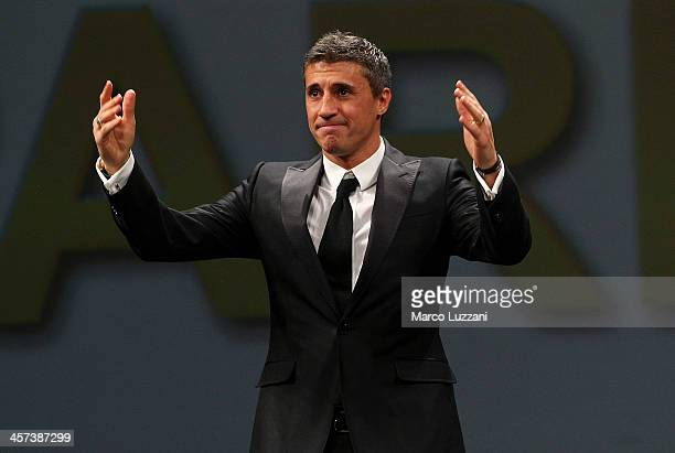 Hernan Crespo attends the FC Parma 100 years Anniversary at Teatro Regio on December 16 2013 in Parma Italy